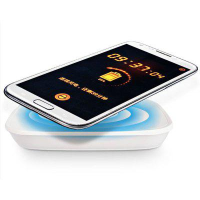 Metrans W5000 QI Wireless Charging Mat 5000mAh External Backup Battery with Receiver
