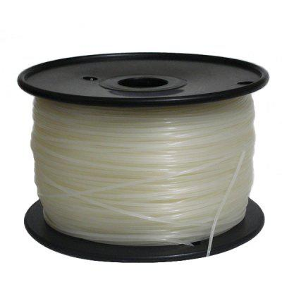 PLA Made Repraper ABS 3D Printer Filament Bundle for Reprap (Natural Color)