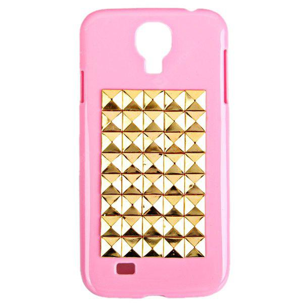 Unique Rivets Nails Style Plastic Protective Hard Shell Case for Samsung Galaxy S4 i9500 / i9505