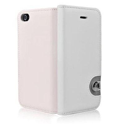 Baseus Metal Buckle Style Rainbow PU Leather + TPU Case Cover for iPhone 5