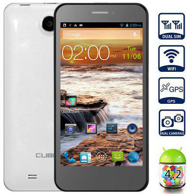 CUBOT GT99 Android 4.2 4.5 inch HD 720P MTK6589 Quad Core 3G Smart Phone 12MP Camera GPS