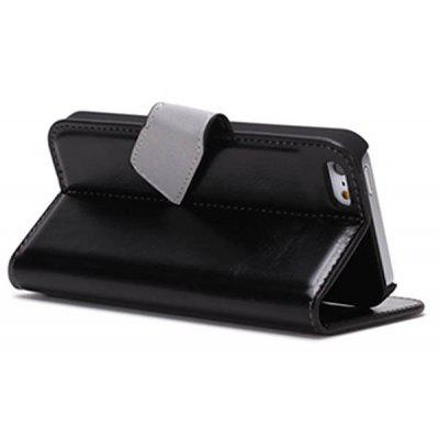 Xundd Fashion Flip Wallet Style PC + PU Leather Stand Case for iPhone 5