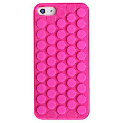 Soft and Flexible Circular Design Back Case Cover for iPhone 5