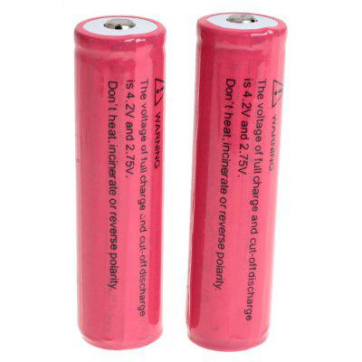 TangsFire 18650 Rechargeable Battery 3.7V 2800mAh Li - ion with Protection Board