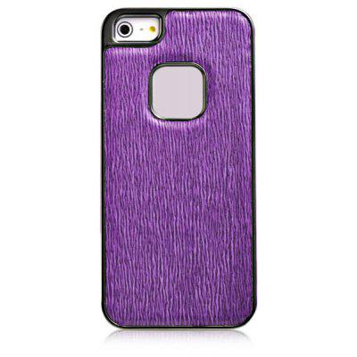 Baseus Cool Tribe Series Fox Texture Pattern Electroplating Artificial Leather and Plastic Hard Shell Case for iPhone 5