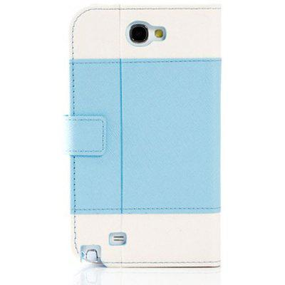 K.win Wallet Style PU + PC Stand Case for Samsung Galaxy Note 2 N7100