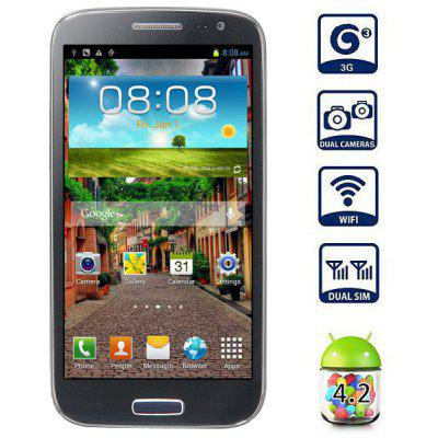iNew i7000 5 inch  Android 4.2 3G Phablet MTK6589 Quad Core 1.2GHz 16GB ROM HD 720P IPS GPS