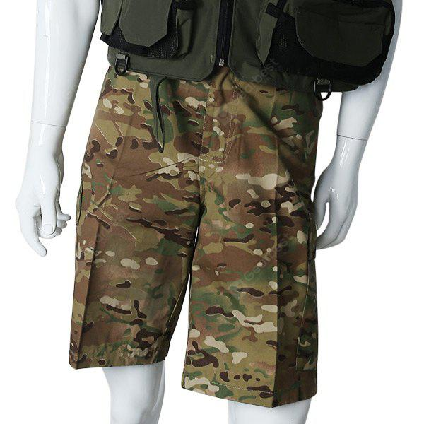 XL Size High Quality Digital Camouflage Pattern Outdoor Shorts Mens Cargo Shorts - Terrain Camouflage