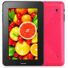 Android 4.0 S26 7 inch 3G Tablet PC with A13 1GHz WVGA Screen 4GB ROM Dual Cameras - PLUM