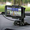 Windshield Car Universal Holder for iPhone 4/ iPhone 4S with MP3 Function (Black) - BLACK