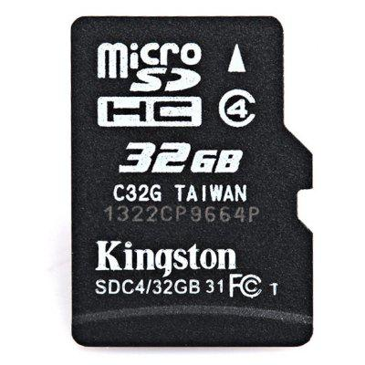Portable Kingston 32GB Micro SD/TF Small Class4 Memory Card