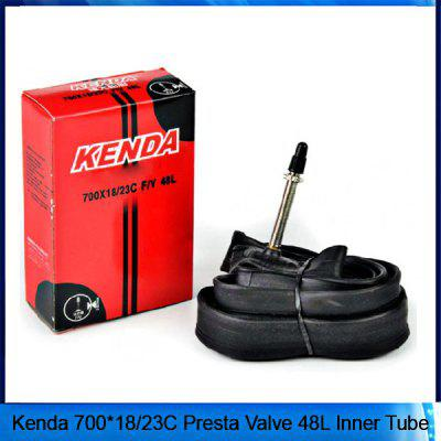 Kenda Road Bike Bicycle Tire 700C Inner Tube 700x18/23C F/V 48L with Lengthened Presta Valve