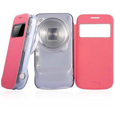 Baseus PU and PC Stand Case with View Window for Samsung Galaxy S4 Zoom C101