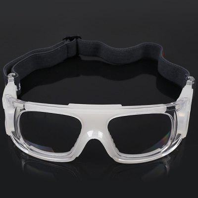 Anti-shock Basketball Glasses Sports Safety Goggles Soccer Football Eyewear - Transparent