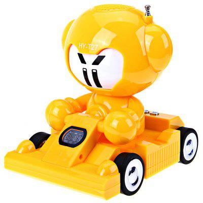 HY-T27 Stereo Cartoon Car Speaker