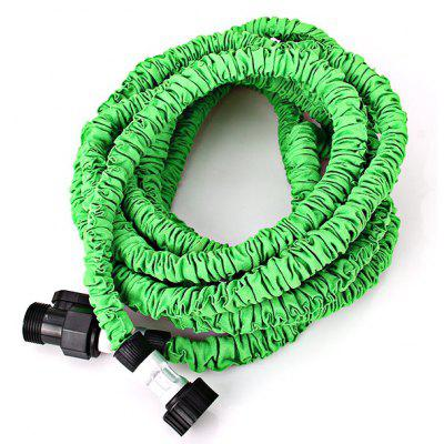Water Supply Expandable Flexible Garden 50FT Pipe with Cloth Surface - Green