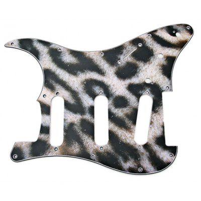 Leopard 3-PLY SSS ST Strat Electric Guitar Pickguard