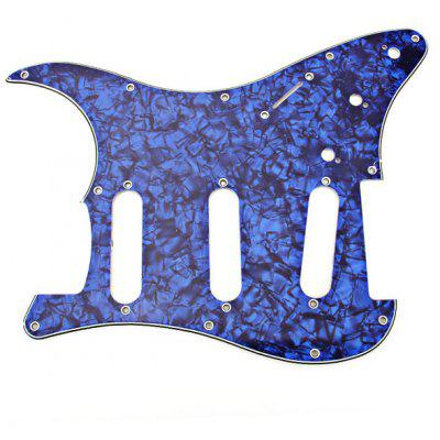 MA-012 Professional Pearl PVC 3-PLY Pickguard Scratch Plate for Electric Guitar