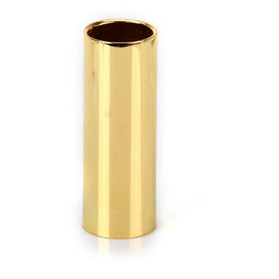 HB-06 70mm Guitar Slide Bar Golden Stainless Steel