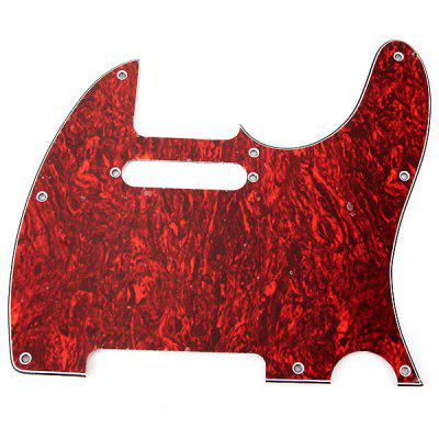 MG-011 Professional High Quality 3-PLY Red Tortoise Shell Pickguard Scratch Plate for TL Guitar