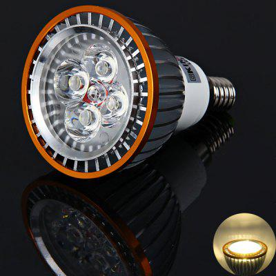 High Quality Kin Fire E14 4 x LED 320-360 Lumens Spotlight 4W 85-265V - Silver + Golden (Warm White Light)