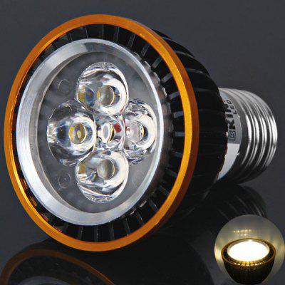 High Quality Kin Fire E27 4 x LED 320-360 Lumens Warm White Light Spotlight 4W 85-265V Black + Gloden