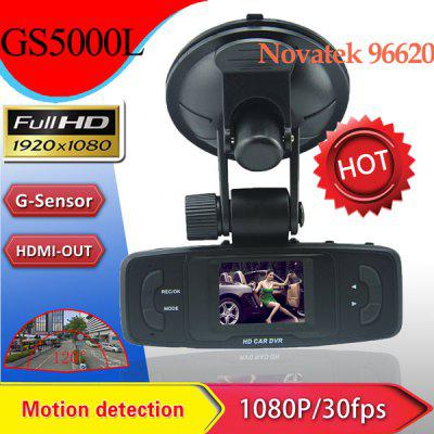 Dome GS5000L 1.5 inch TFT 140 Degree Wide Angle Vehicle DVR Recorder Support 1920 x 1080 Recording