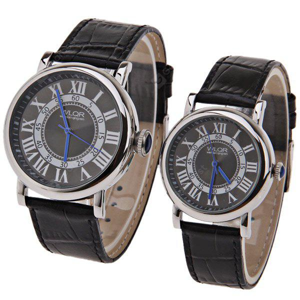 BLACK, Watches & Jewelry, Couple's Watches
