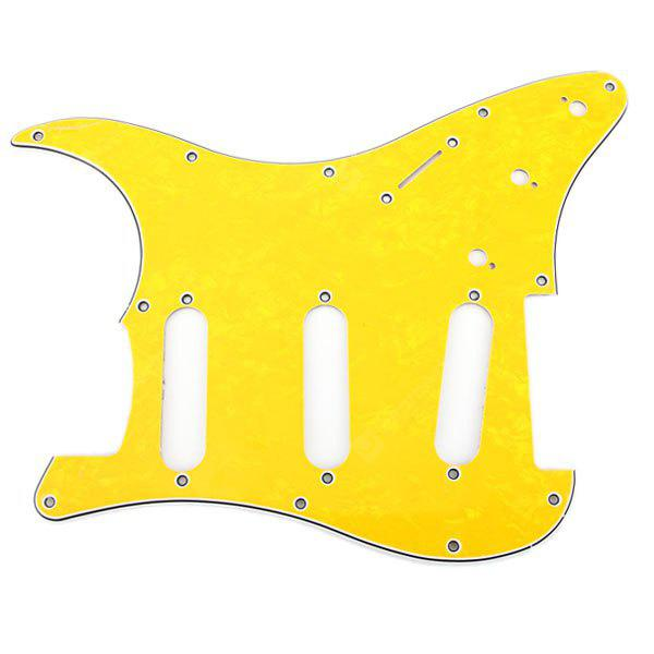 MA-013 Professional Pearl PVC 3-PLY Pickguard Scratch Plate for Electric Guitar
