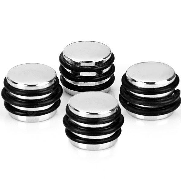 KB-60 4PCS High Quality Speed Control Knobs (Silver)