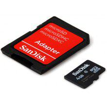 SanDisk 4GB Calss4 Hot Sale  Micro SD/SDHC Card