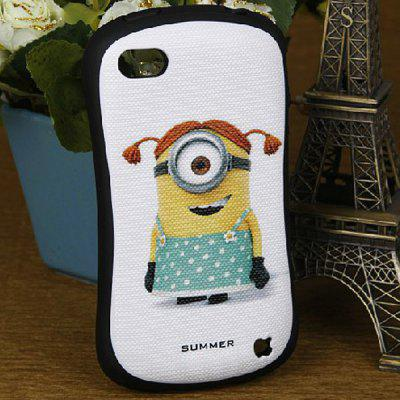Popular Despicable Me Style Protective Silicone and Hard PC Shell Case for iPhone 4 / 4S