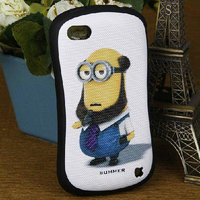 Despicable Me Style Protective Silicone and Hard PC Shell Case for iPhone 4 / 4S