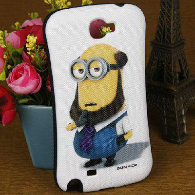 The Minion Pattern Iface Style Case for Samsung Galaxy Note 2 N7100