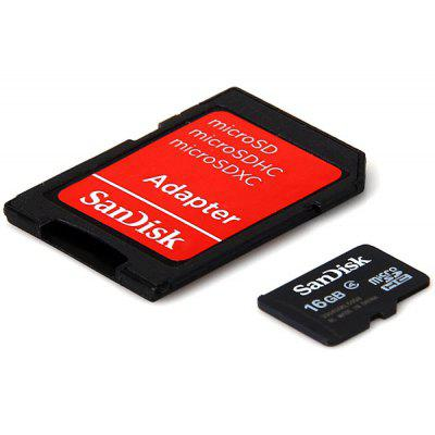SanDisk 16GB Calss4 Super Speed Micro SD/SDHC Card ssk scrm 060 multi in one usb 2 0 card reader for sd ms micro sd tf white