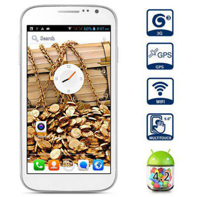 Cubot P9 5 inch Android 4.2 3G Phablet Unlocked Phone MTK6572 Dual Core 1.3GHz QHD IPS Screen GPS