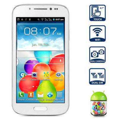 GT - A9500 Android 4.2 4.7 inch Capacitive Screen Dual - SIM SP6820A Quad Band Smartphone
