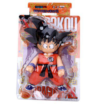 Cool Anime Character Dragon Ball Songokou PVC Figure Model Toy for Cartoon Fans men shoulder bag genuine cowhide oil wax leather messenger crossbody bags male casual totes briefcase business top handle bag