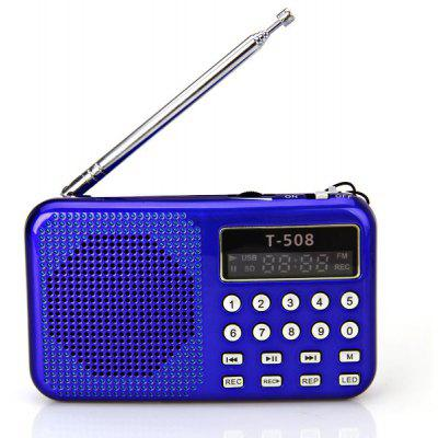T-508 Pantalla LED Mini Altavoz