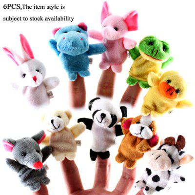 Buy Cool Finger Toys Animal Models Baby Doll Finger Puppet for $2.85 in GearBest store
