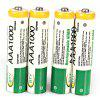 Low Carbon and Environment Friendly BTY R03 AAA 1.2V 1000mAh Ni-MH Rechargeable Battery - 4Pcs