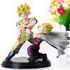 Juego de 2pcs Hot Anime Dragon Ball Z Figura Característica Modelos con base de pie