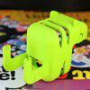 Emie Mini Cat Design Charging Head Protection Stents Device Holder for iPhone / iPad / iPod - GREEN