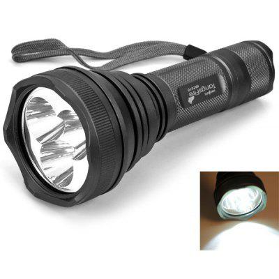 2010# 3 x Cree XM-L T6 White Light 1000 Lumens 5 Modes Flashlight with Battery and Charger
