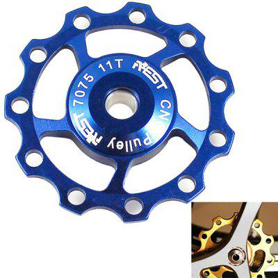 1PCS AEST A-06 Aluminium Jockey Wheel Rear Derailleur Pulley for Shimano and SRAM - Blue