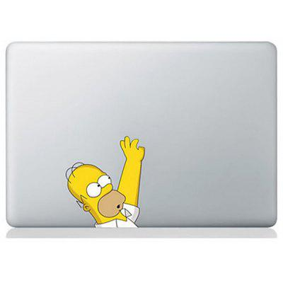 20PCS Wholesale Popular Decal Sticker with Simpson Pattern for Macbook 11 / 13 / 15 / 17 inch Skin