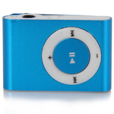 Semplicità Moda Pocket MP3 Player 3,5mm Audio Jack con Back Clip e  Micro SD Card Slot