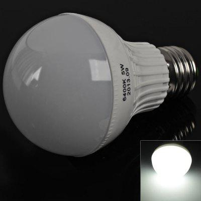 Performance E27 18 x 3528 SMD LED 5W Bulb Light (White Light, 220V)
