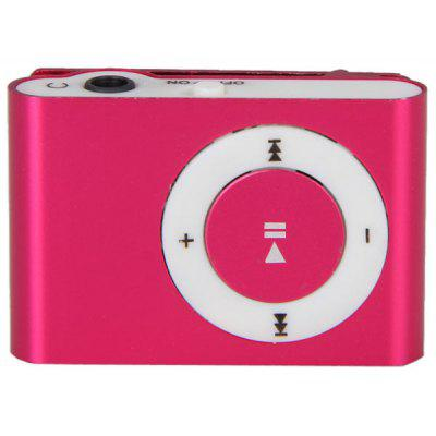 Simplicity Fashion Pocket MP3 Player 35mm Audio Jack With Back Clip And Micro SD Card