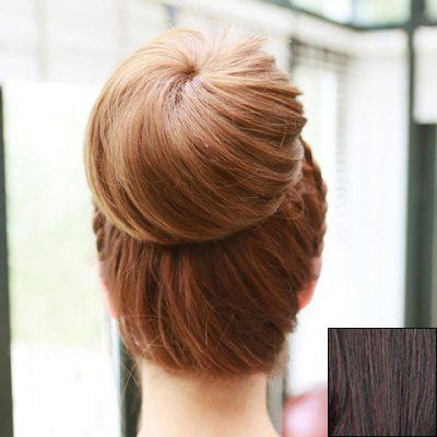 Fashion Fluffy Charming Straight Synthetic Chignons For Women